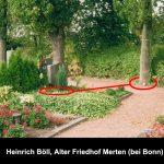 Heinrich Böll's grave