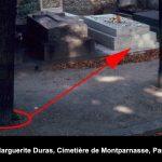 Marguerite Duras' grave