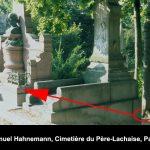Samuel Hahnemann's grave