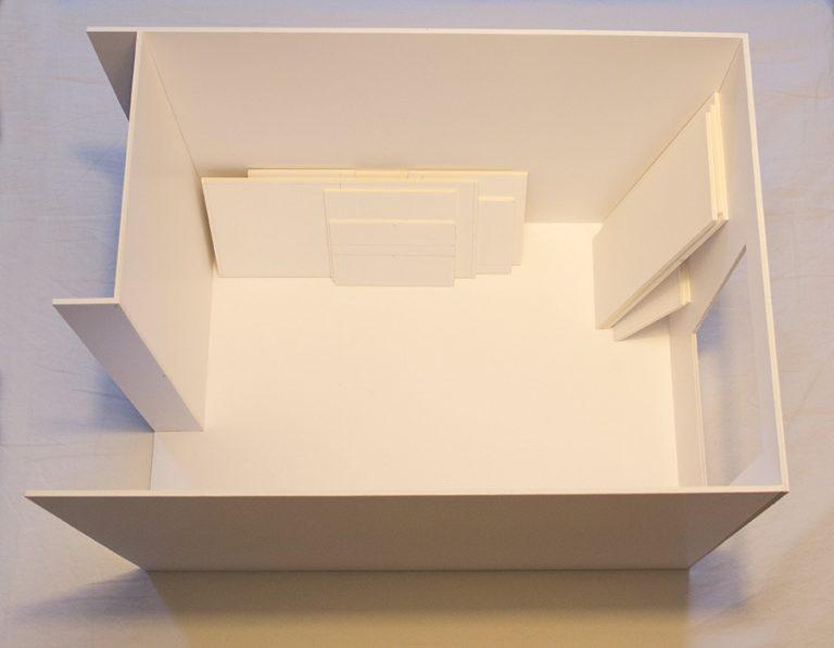 Boy's room model. Day 1
