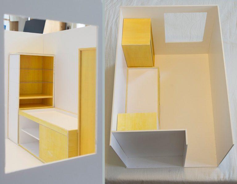 Boy's room model. Day 4