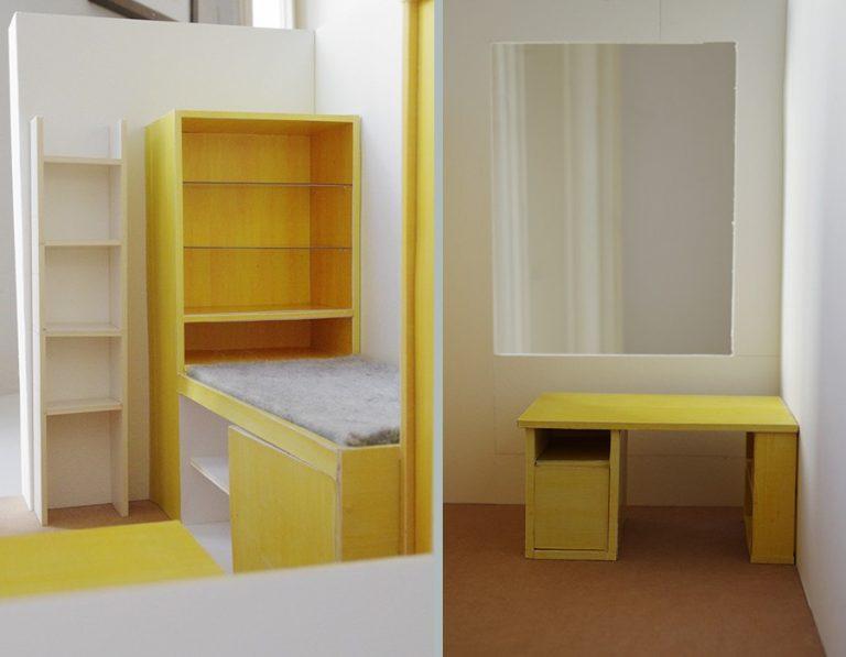 Boy's room model. Day 6